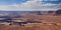 canyonlands national park, utah, united states of america, the canyons carved by the green river from murphy point