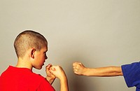 Two Boys Fighting (thumbnail)