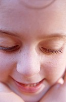Face of Young Girl (thumbnail)