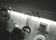 Man on Airplane