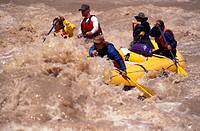White Water Rafting Cataract Canyon Utah