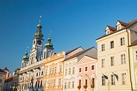 town hall, ceske budejovice, czech republic