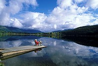 Relaxing at Whistler, British Columbia, Canada