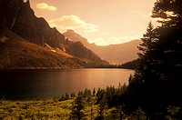 Sunburst Lake, Assiniboine Park, Alberta, Canada