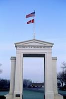 International Peace Arch, Canadian, US Border, White Rock, British Columbia, Canada