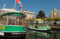 Waterfront Ferry in Victoria Harbour British Columbia Canada
