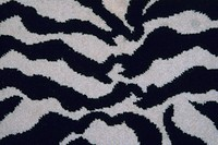 Close_up of an animal print on fabric