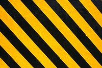 Close_up of a black and yellow striped surface