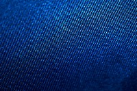 Close_up of blue upholstery fabric