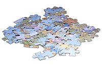 pile of puzzle pieces uid 1444449