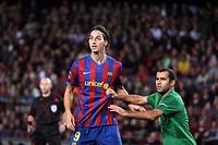 Barcelona, Camp Nou Stadium, 20/10/2009, UEFA Champions League, FC Barcelona vs. FC Rubin Kazan, Ibrahimovic during the match