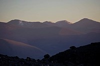 Muztagh Ata in the Kun Lun Mountain, Sinkiang, China.