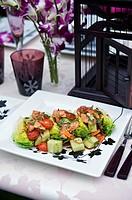 Thai_style salmon salad