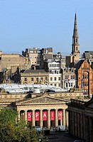 National Galleries of Scotland. Edinburgh, Scotland. Great Britain.