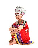 a girl of Miao Minority