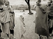 The Masai in Tanzania, Africa