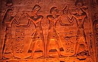 Egyptian art,Sunken_relief,detail,Egypt