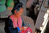 Kaya woman, mountain tribe, North Thailand