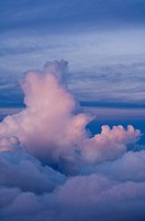 Cloudtops viwed from Haleakal volcano, Maui, Hawaii, United States