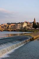 Arno River, Florence, Tuscany, Italy