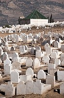 Cemetery, Fes, Morocco