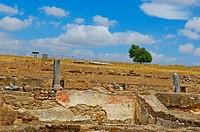 Roman villa of Pisões, Beja, Alentejo, Portugal