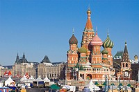 Moscow orthodox Saint-Basil cathedral