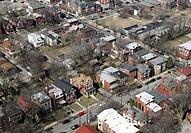 USA, Kentucky, Louisville, Suburban housing