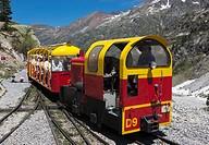 Petit train d´Artouste narrow gauge railway, Pyrenees National Park, Pyrenees-Atlantiques, France