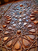 Puerta. Madrasa del Sultán Barquq, calle histórica Al Mu´izz. El Cairo, Egipto