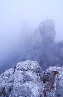 peak at ai_petri mountain on crimea