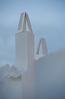 Chimneys, Minorca, Balearic Islands, Spain