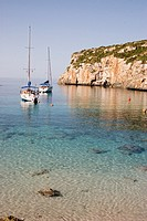 Sailboats, Minorca, Balearic Islands, Spain
