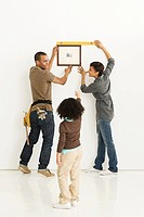 Family hanging picture frame