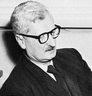 Hermann J. Oberth 1894_1989, a Transylvanian physicist and a founder of the science and technology of rocketry and astronautics space flight. This pho...