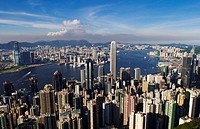 View of Victoria Harbour from the Peak Hong Kong