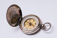 Antique pocket compass circa 1930s