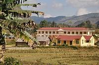 Bac Ha (Vietnam): school in a Hmong village