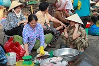 Vietnam, Ho Chi Minh City, Saigon, Cholon district, Binh Tay Market
