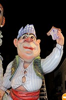 Fallas, Valencian traditional celebration of Saint Joseph, Valencian Community, Spain