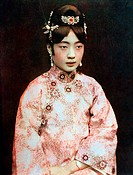 Empress of Ching dynasty,fine art portrait