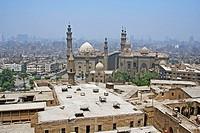 Sultan Hassan and Al-rifai mosques, Cairo, Egypt