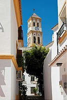 Old Town Church, Marbella, Costa del Sol, Spain