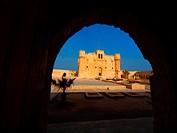 Fortaleza de Qaitbay (antiguo emplazamiento del Faro), Alejandría, Egipto