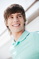 Germany, Bavaria, Young man, portrait, close_up