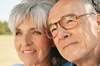 Spain, Mallorca, Senior couple, portrait, close_up