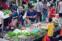 Bangsar Sunday market, Kuala Lumpur, Malaysia, Southeast Asia, Asia