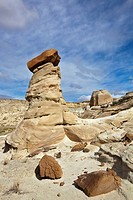 USA, Utah, White Valley, Hoodoos