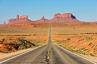 USA, Utah, Monument Valley, Highway 163