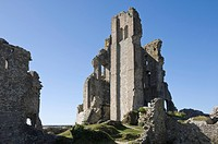 The Keep of Corfe Castle, Corfe, Dorset, England, United Kingdom, Europe